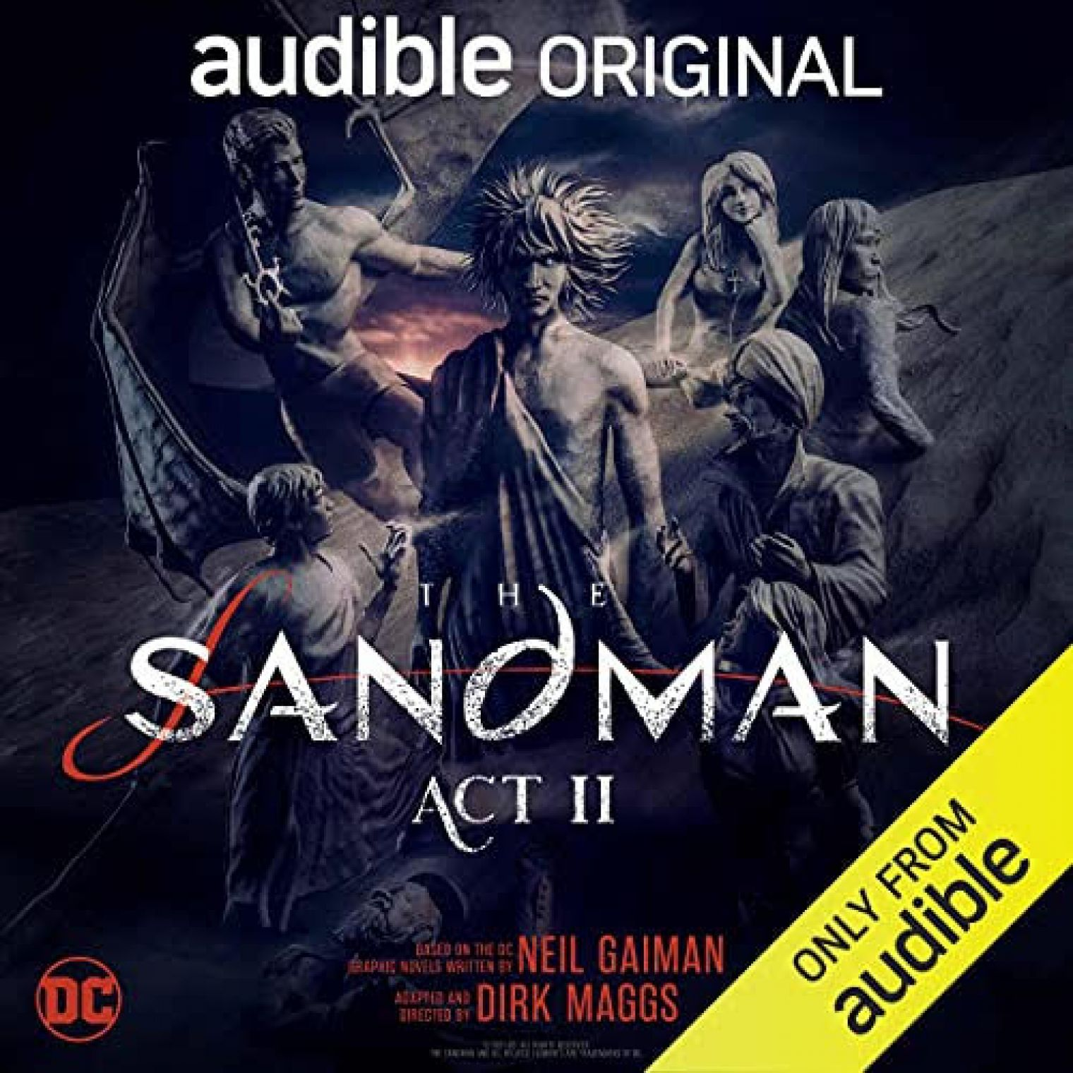 Audible's blockbuster adaptation of 'The Sandman: Act II' is released today, featuring Shai Matheson as Mark Twain